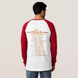 Baseball Style Concert T-Shirt
