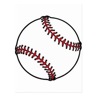 Baseball Style Design Postcard