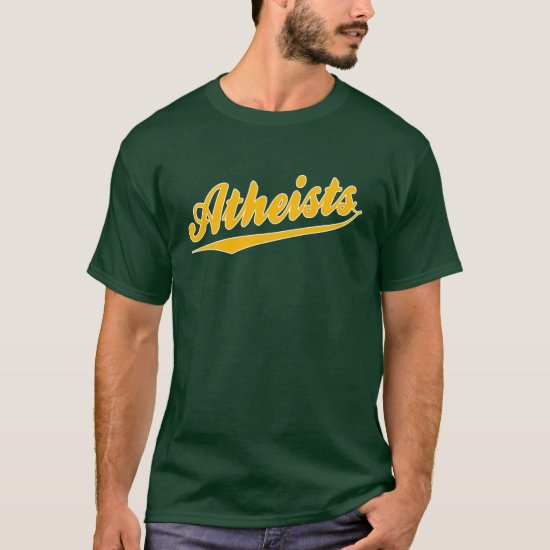 Baseball Style Team Atheist T-Shirt