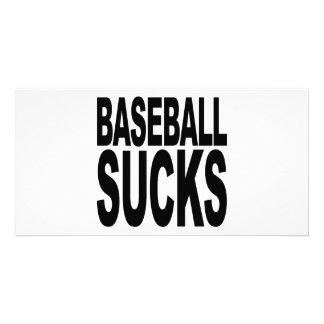 Baseball Sucks Photo Card