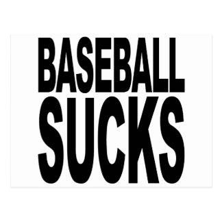 Baseball Sucks Postcard