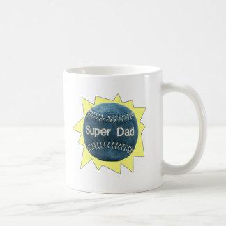 Baseball Super Dad Coffee Mug
