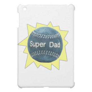 Baseball Super Dad iPad Mini Cases