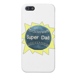 Baseball Super Dad iPhone 5/5S Covers