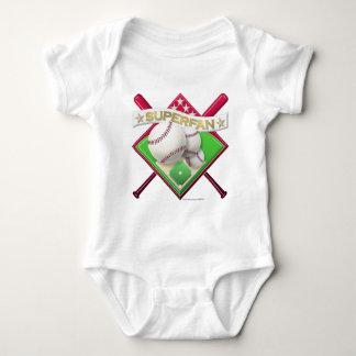 Baseball Superfan Baby Bodysuit