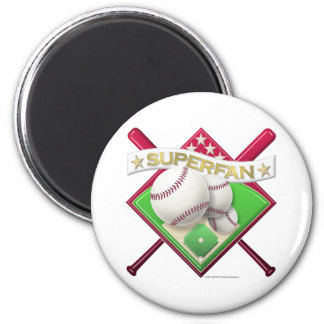 Baseball Superfan Magnet