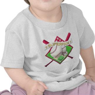 Baseball Superfan T-shirts