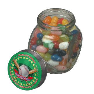 Baseball Sweet Jar Jelly Belly Candy Jars