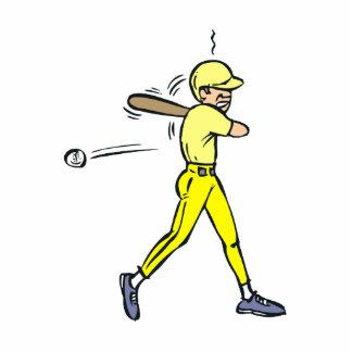 Baseball Swing Cutout
