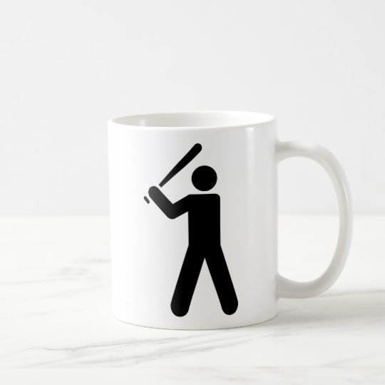 Baseball Symbol Coffee Mug