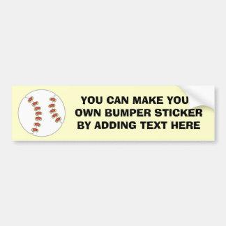 Baseball T-shirts and Gifts Bumper Sticker