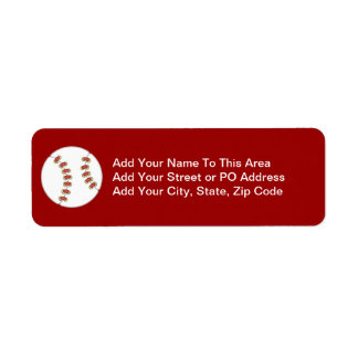 Baseball T-shirts and Gifts Label