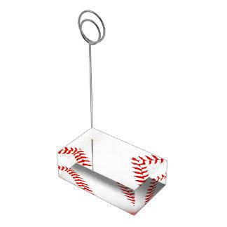 Baseball Table Card Holder