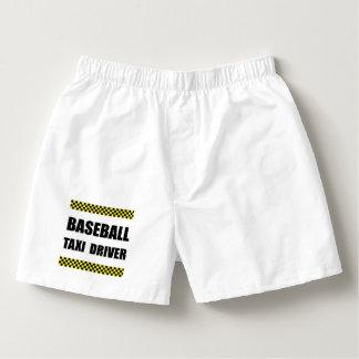 Baseball Taxi Driver Boxers