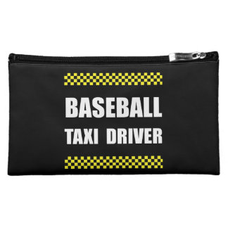 Baseball Taxi Driver Makeup Bag