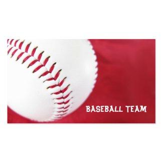 Baseball Team Business Cards