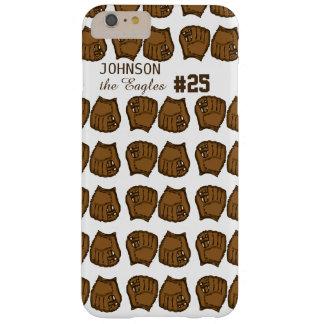 Baseball team custom mitt barely there iPhone 6 plus case