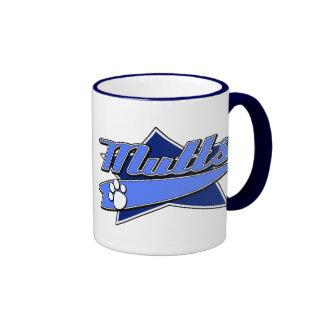 Baseball Team Logo - Mutts Ringer Mug
