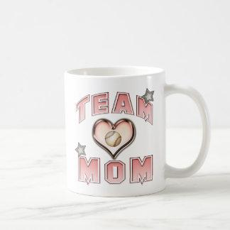 Baseball Team Mom Coffee Mug