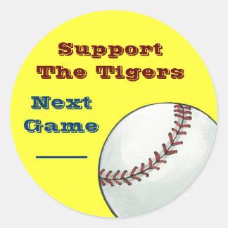 Baseball Team Promotional Stickers