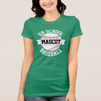 Baseball Team/School Name & Mascot Women's T-shirt