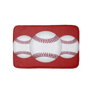 Baseball Team Sports Bath Mat Accessory