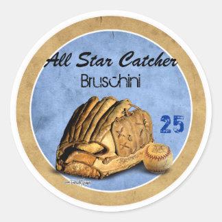 Baseball - Team sports Classic Round Sticker