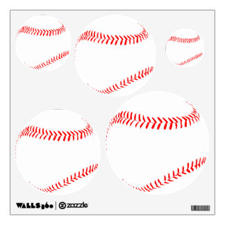 Baseball Team Sports Party or Kids Room / Mancave Wall Sticker