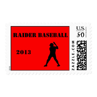 Baseball team stamp