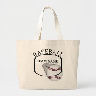 Baseball Team Tote Bag