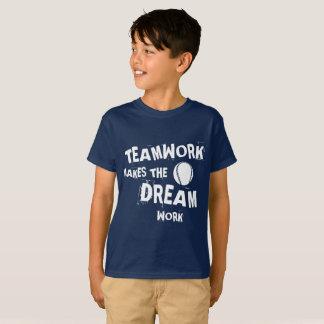 Baseball Teamwork Kids T-Shirt