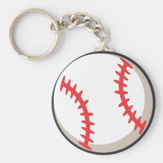 Baseball Tee Shirt - Cool Baseball Tee Shirt Basic Round Button Keychain
