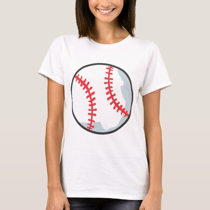 Baseball tee shirts custom baseball cartoon tees zazzle for Baseball jersey t shirt custom