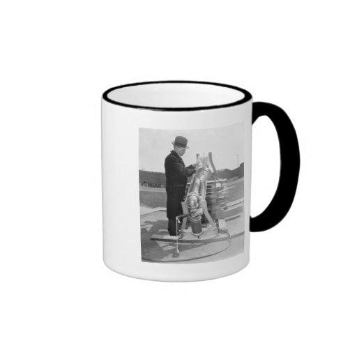 Baseball Testing, 1938 Ringer Coffee Mug