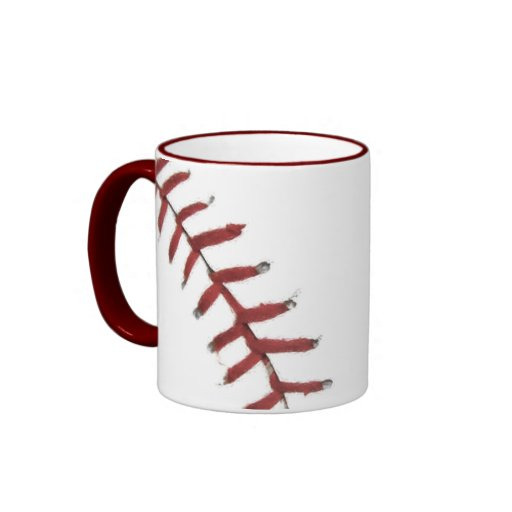 Baseball Text ture - mug