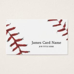 Baseball business cards templates zazzle baseball texture illustration business card colourmoves Choice Image