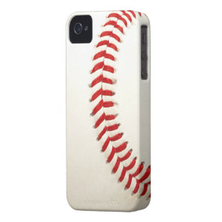 Baseball Texture iPhone 4/4S Case-Mate B.T. iPhone 4 Covers