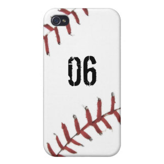 Baseball Texture iPhone 4 Case