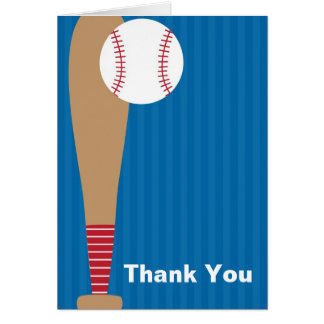 Baseball Thank You Cards Cards