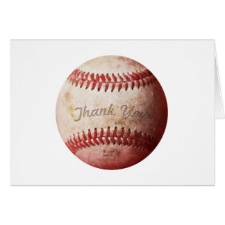 Baseball Thank You Note Cards | Sports Cards
