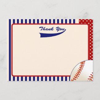Baseball Thank You Notes
