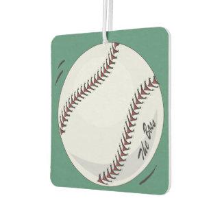 Baseball  'The Boss' ~with editable background Air Freshener