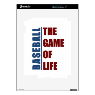 Baseball the game of life iPad 2 skins