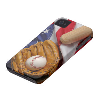 Baseball the USA Case-Mate iPhone 4 Cases