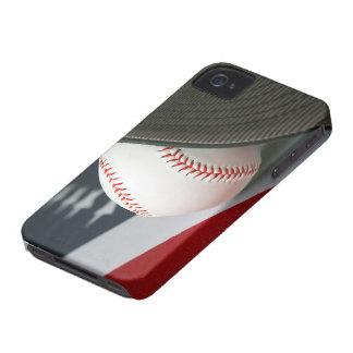 Baseball the USA iPhone 4 Case