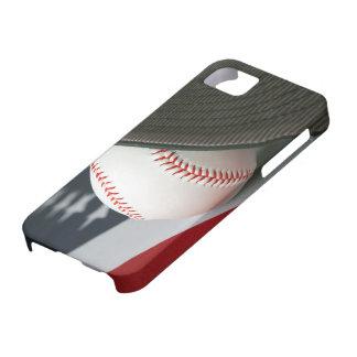 Baseball the USA iPhone 5 Fundas