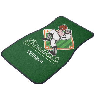 Baseball Theme Car Mat