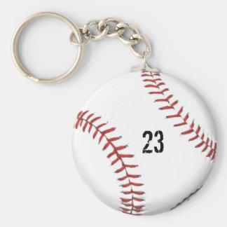 Baseball Theme keychain