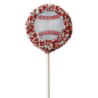 Baseball Theme Party Fun Ideas Chocolate Covered Oreo Pop