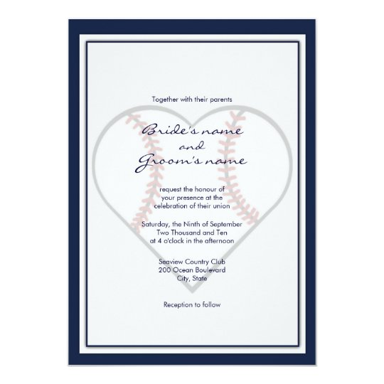 baseball theme wedding invitations zazzle com